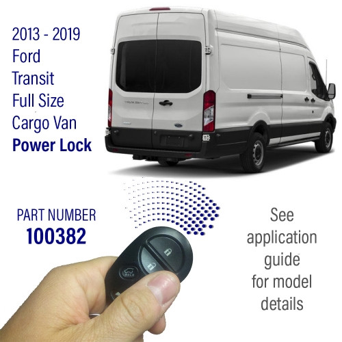 Pop & Lock Chevrolet Express Side & Rear Door Power Lock Combo Kit. 100386