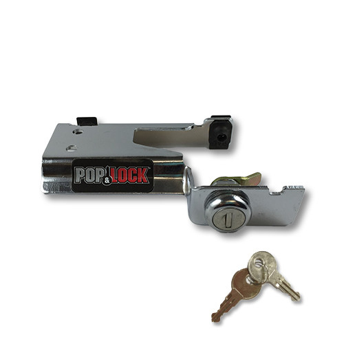 Pop & Lock Chevy/GMC S10, S15, & Sonoma, Isuzu Hombre PL1600C Chrome Manual Lock. PL1600C