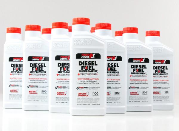 Power Service Diesel Additives DIESEL FUEL SUPPLEMENT +CETANE BOOST