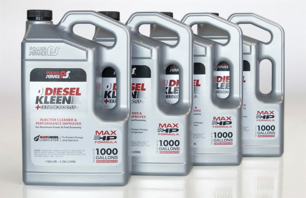 Power Service Diesel Additives DIESEL KLEEN +CETANE BOOST 1 Gallon 3128-04  Case of 4