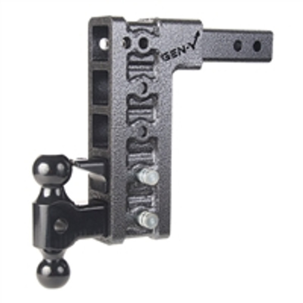 "Drop Hitch 3"" Receiver Class V 32,000lb Towing Hitch GH 1725, Combo Includes Dual Hitch Ball, Pintle Lock & 2 3/4"" Hitch pins (12"" DROP 3"" RECEIVER)"