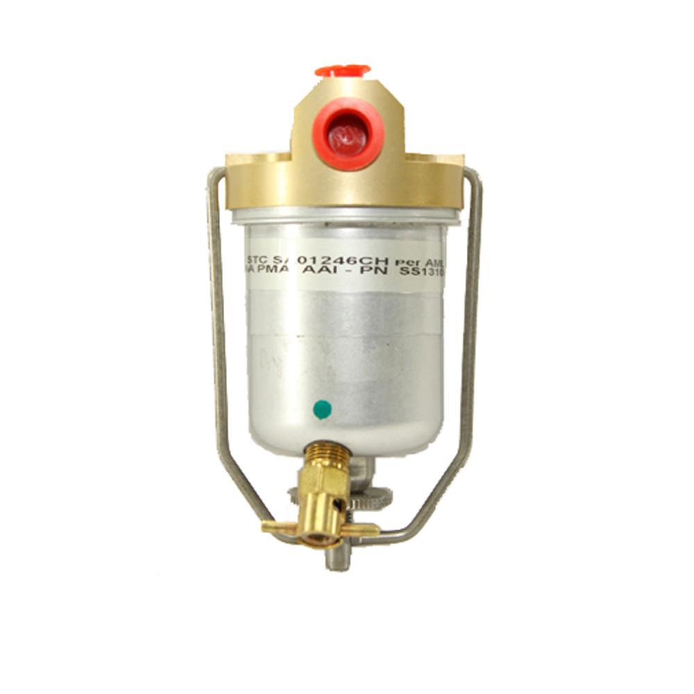 Ercoupe Metal Bowl Gascolator Conversion STC Kit