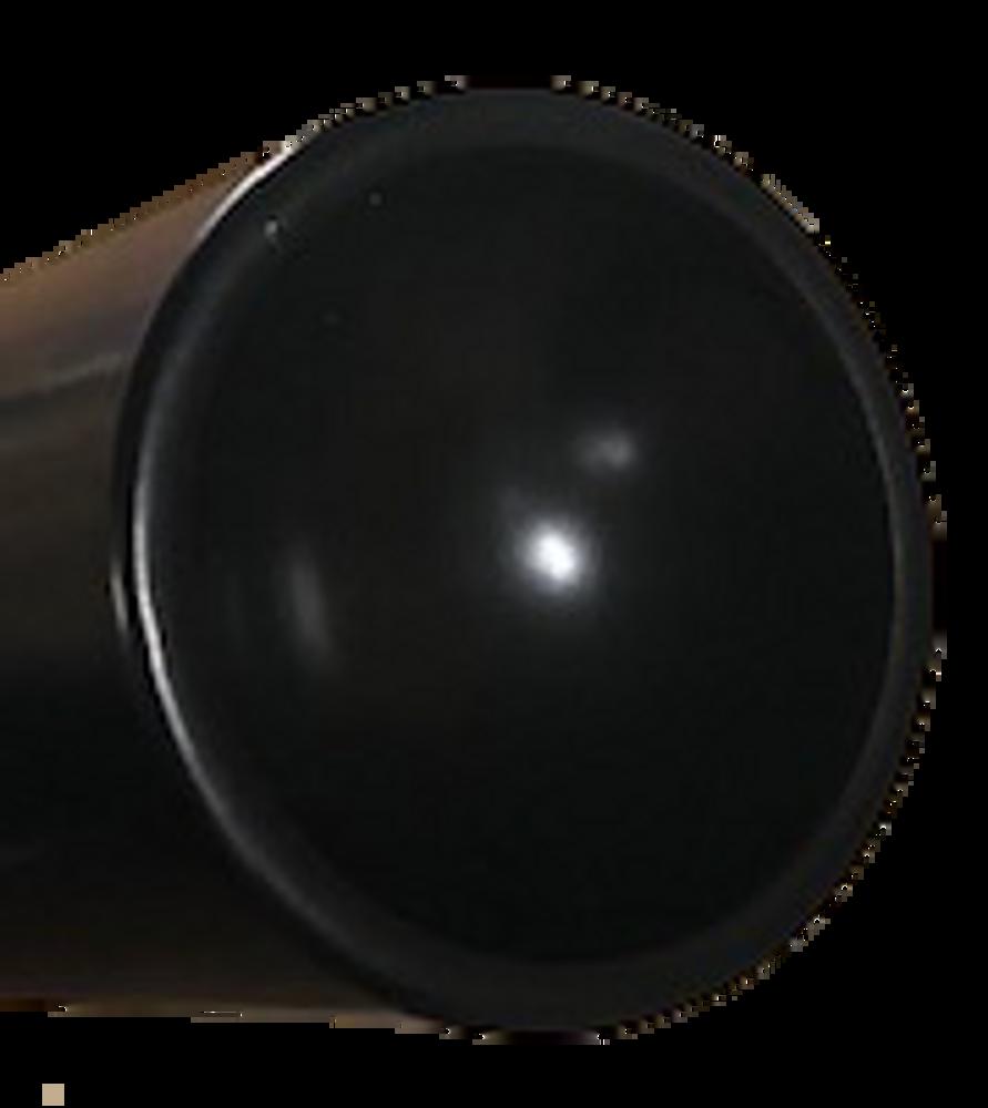 "Optional 6"" Top Ram Extension - Concave top cradles the jack point"