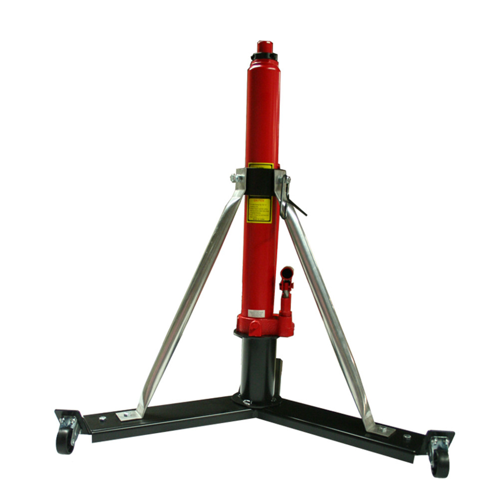 """Alpha Aviation Aircraft Jack Model #332W - 3 Ton Model (6,000 lbs) / 26"""" - 43"""" & 32"""" - 49"""" Effective Ranges.  Shown at 32"""" starting height"""