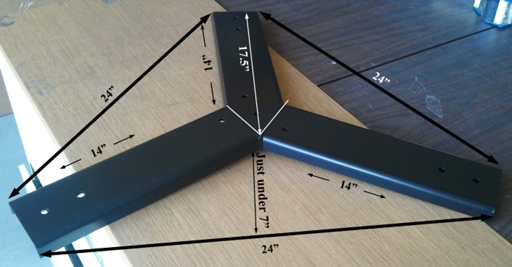 Jack Base Dimensions