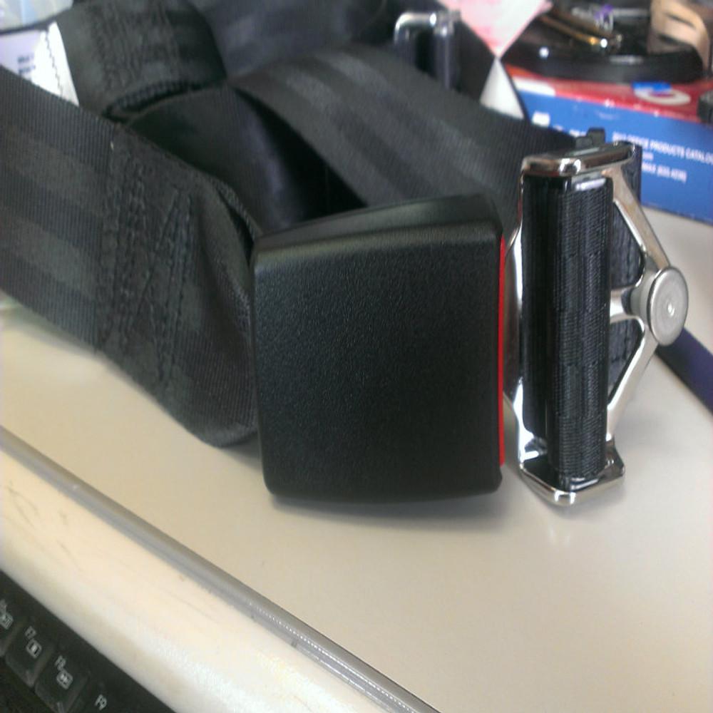 Mooney M20 Rear Fixed Strap Shoulder & Lap Belt Replacement Belt - Push Button Release