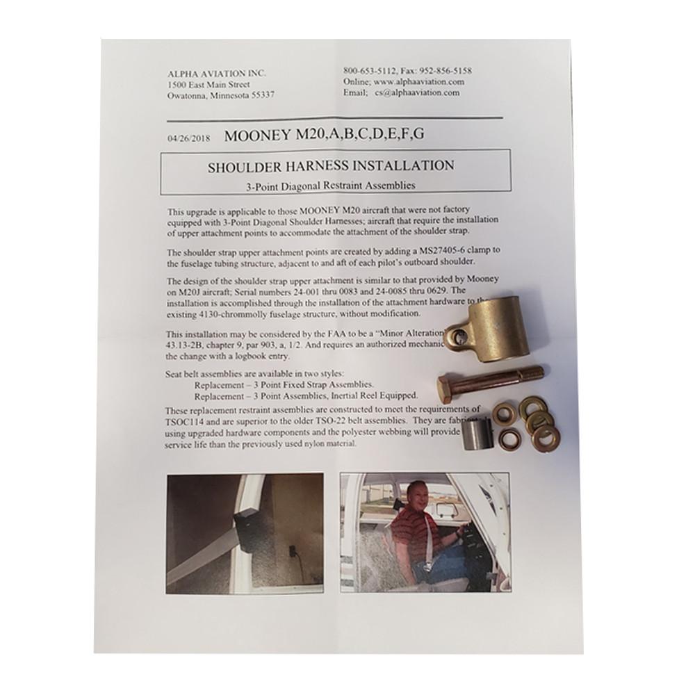 Mooney M20 A thru Early J Minor Change Kit