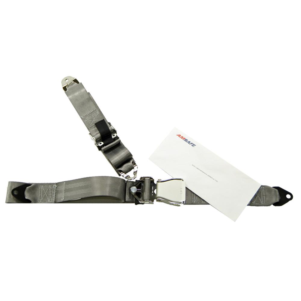 Cessna 150 L/M & 152 Front Fixed Strap Shoulder & Lap Belt Replacement Restraint