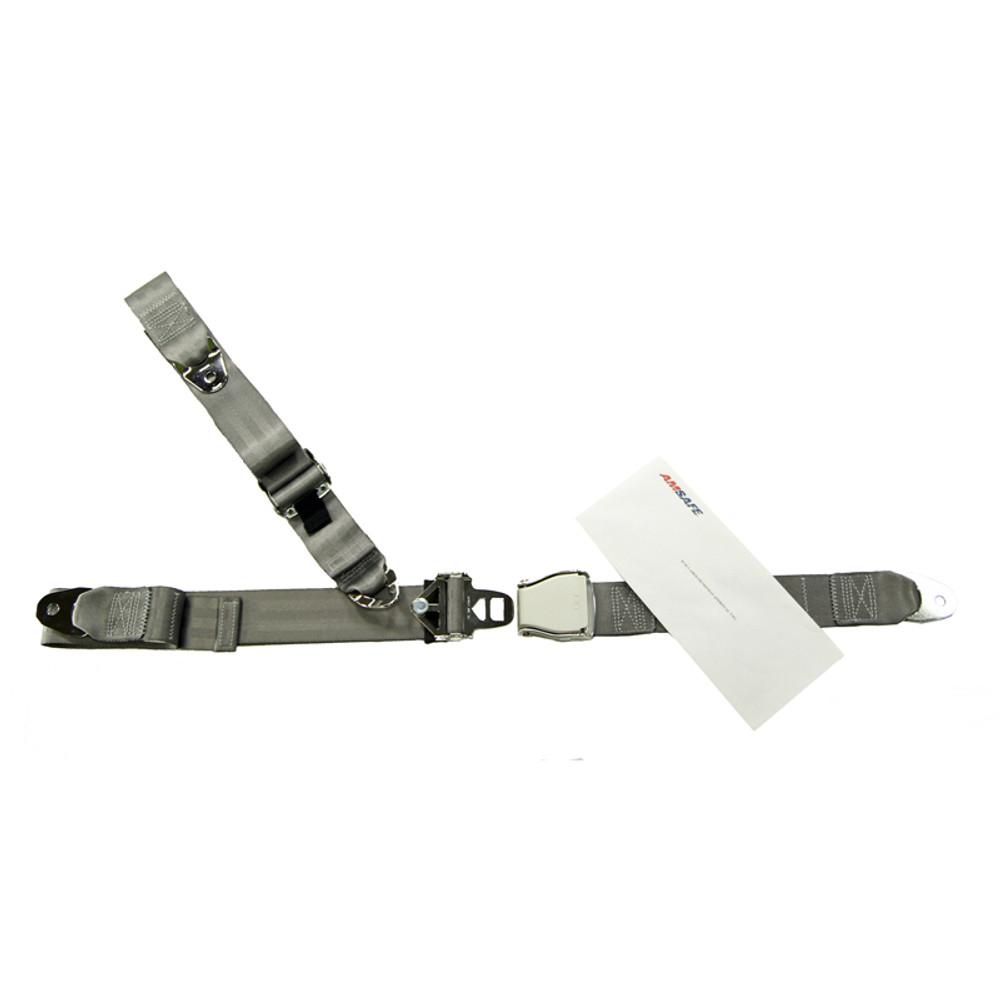 Cessna Cardinal 177 Rear Fixed Strap Shoulder & Lap Belt Replacement