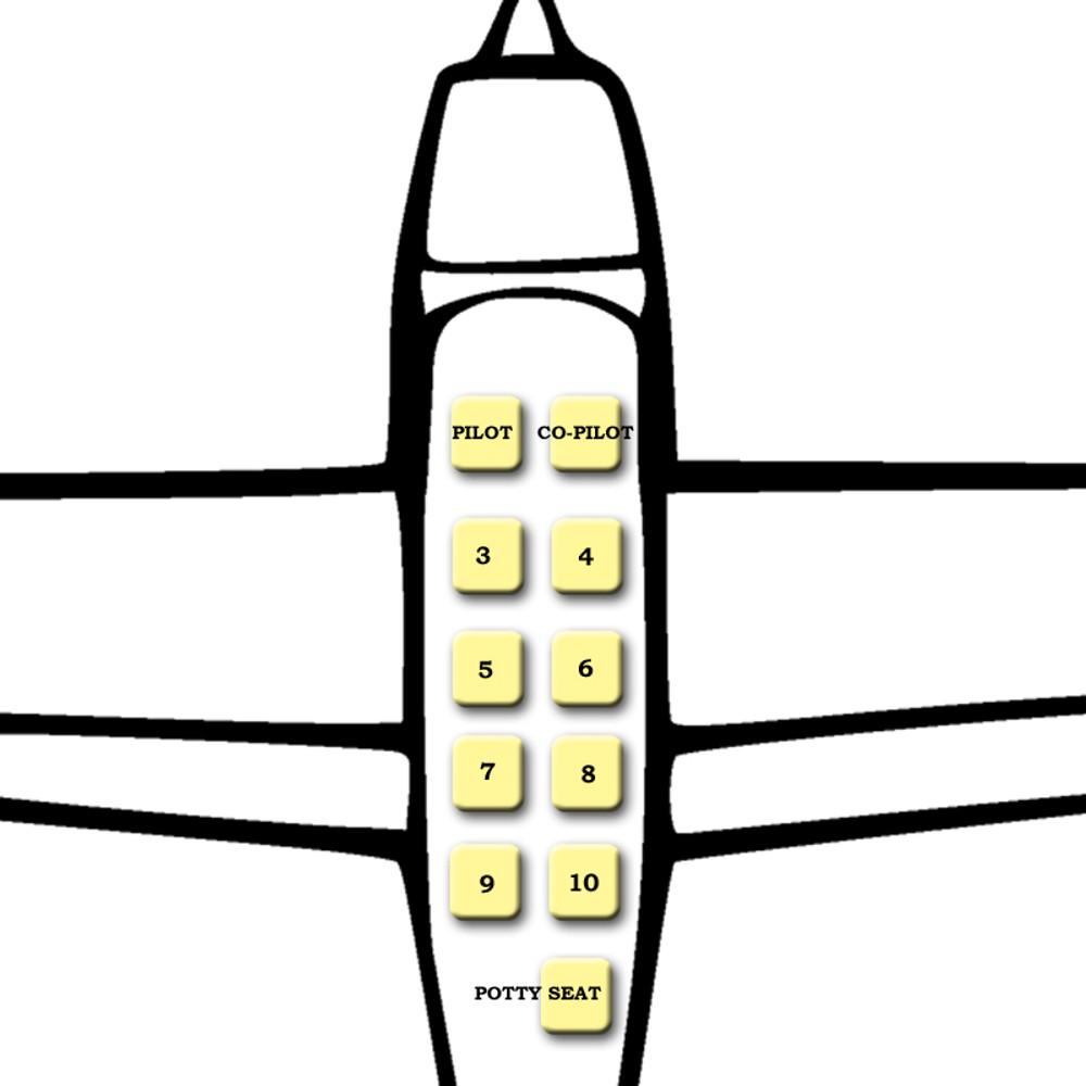 Cessna 200 Series Rear Lap Belt