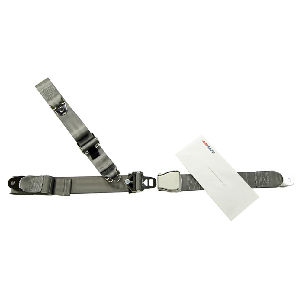 Cessna 200 Series Rear Fixed Strap Shoulder & Lap Belt Replacement Restraint