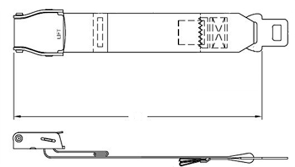 Lap Belt Extender - AmSafe 1027