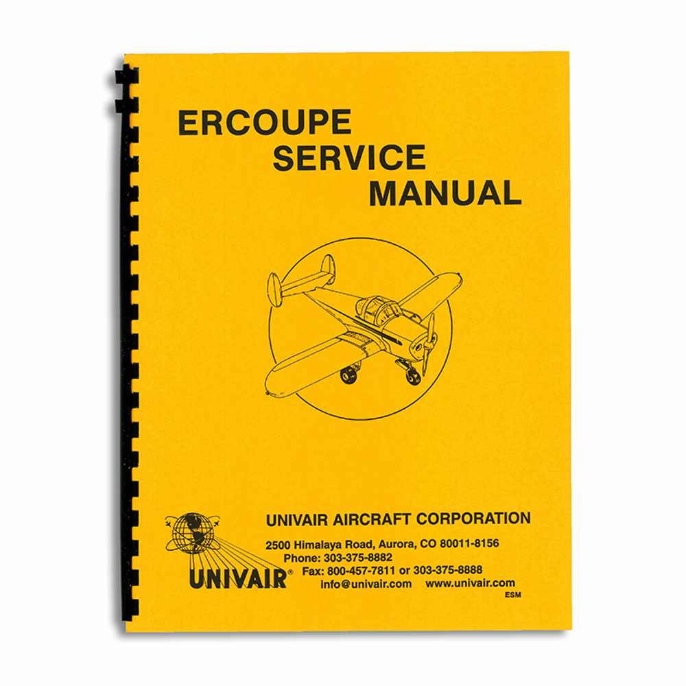 Ercoupe Service Manual