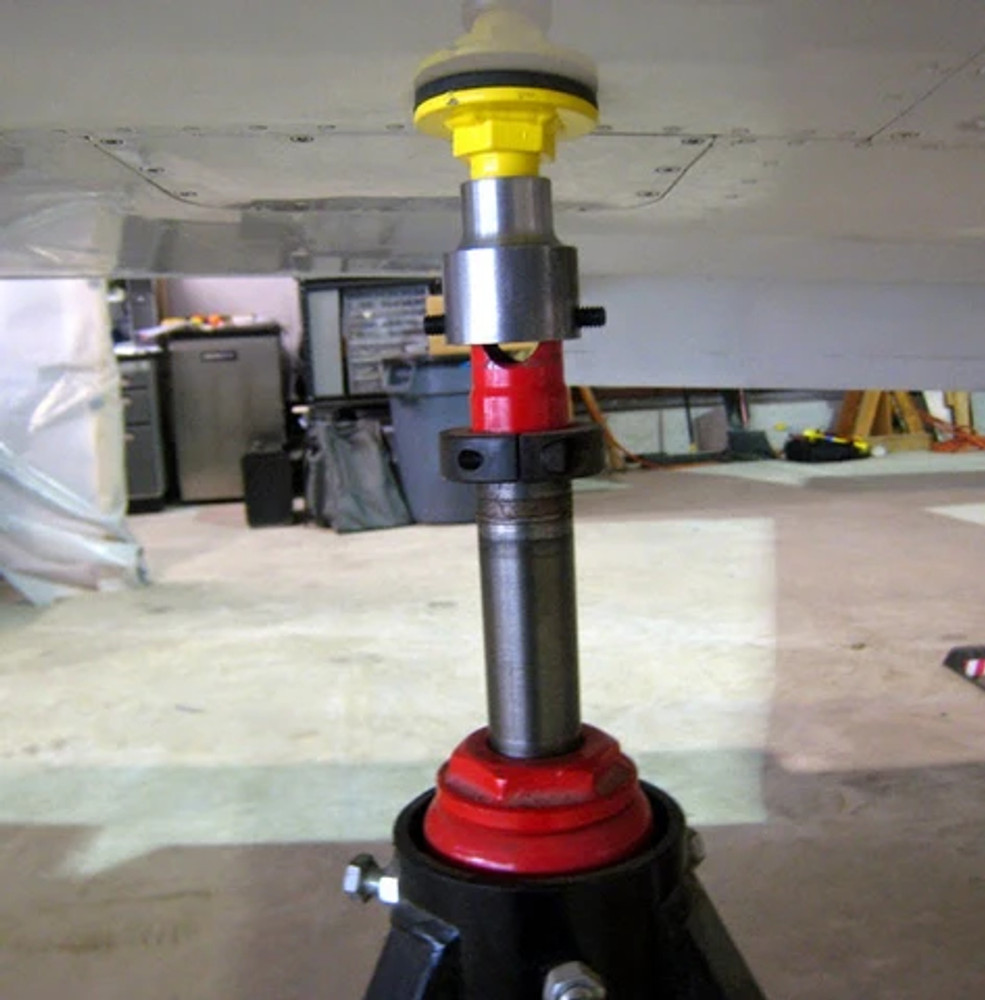30M-RV Jack Pad & Adapter in use