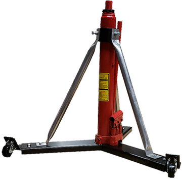 """Alpha Aviation Aircraft Jack Model #332W - 3 Ton Model (6,000 lbs) / 26"""" - 43"""" & 32"""" - 49"""" Effective Ranges.  Shown at 26"""" starting height"""