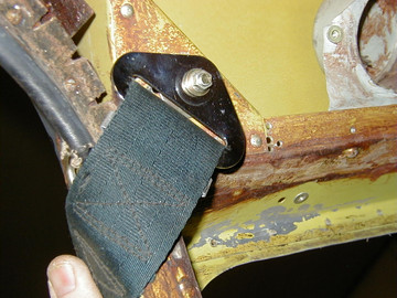Piper PA23 Fixed Strap Shoulder Harness Kit - STC SA02298CH