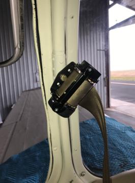 Beechcraft Door Post Mounted Inertial Reel STC Kit