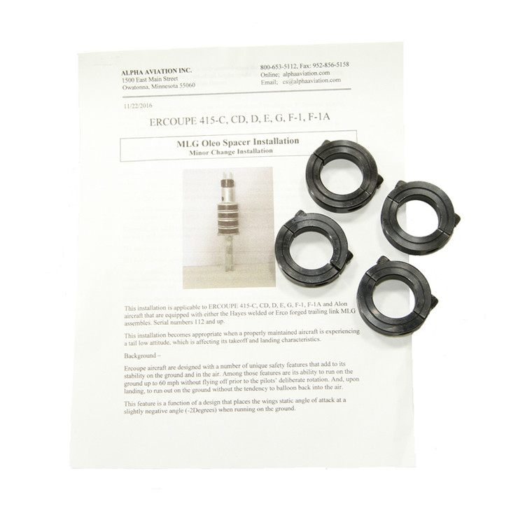 Main Landing Gear Spacer Kit (STC not required)