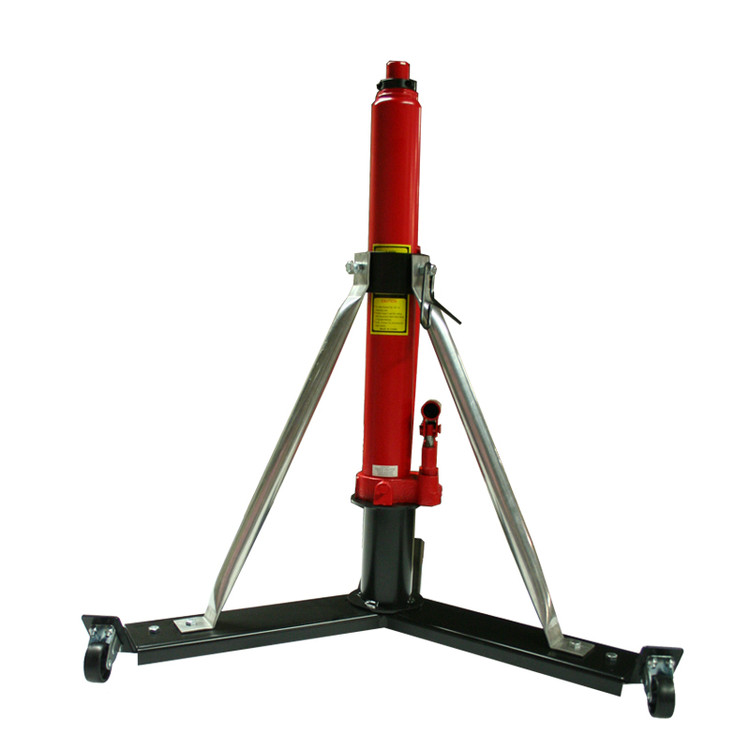 "Alpha Aviation Aircraft Jack Model #332W - 3 Ton Model (6,000 lbs) / 26"" - 43"" & 32"" - 49"" Effective Ranges.  Shown at 32"" starting height"