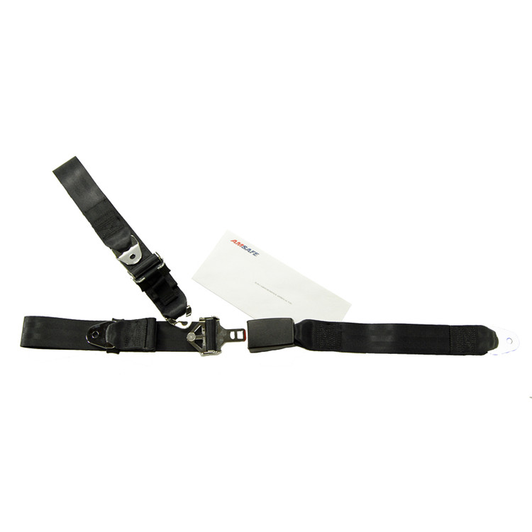 Mooney M20 Front Fixed Strap Replacement - Push Button