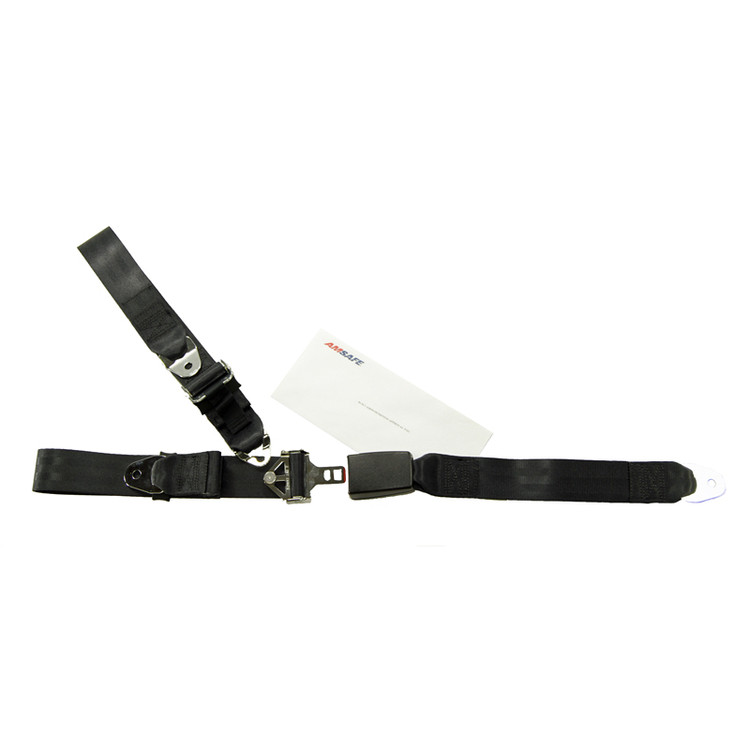 Mooney M20 Rear Fixed Strap Replacement - Push Button