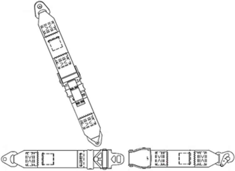 Cessna 100 Series Rear Fixed Strap Replacement