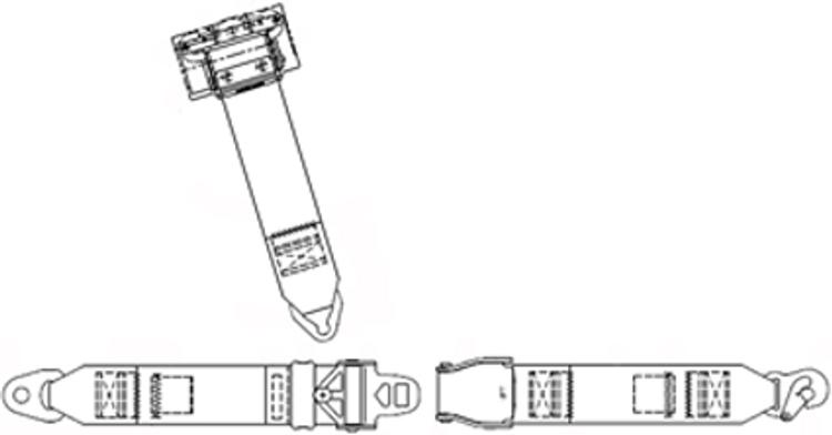 Cessna 100 Series Rear Inertial Reel Replacement / Upgrade