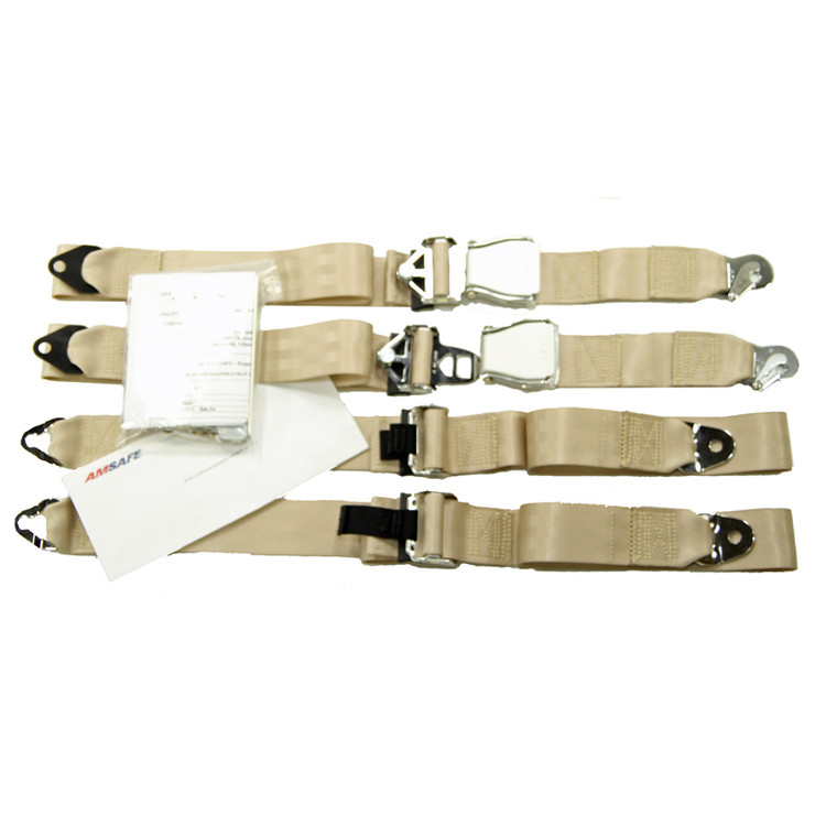 Ercoupe Fixed Strap STC Kit