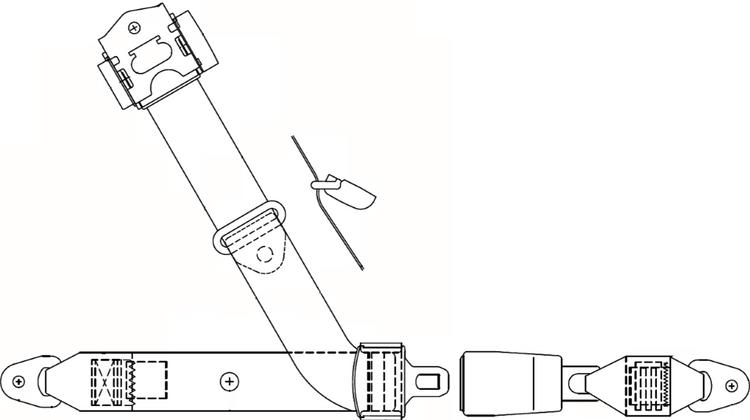 Socata Front, Inertial Reel Replacement
