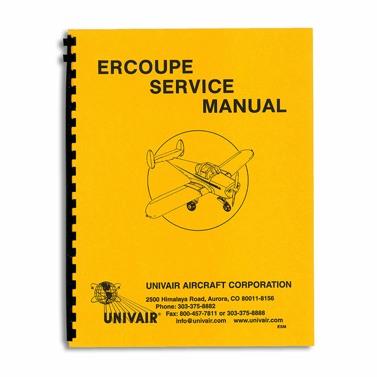 Ercoupe Service Manual