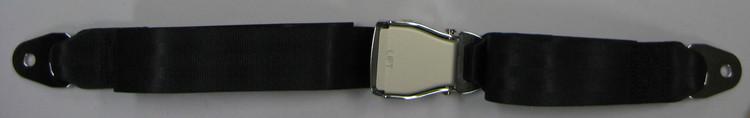 """CLEARANCE 76"""" Lap Belt - Black"""