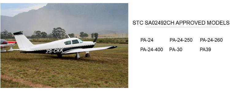 Piper PA24/30/39 STC Kits