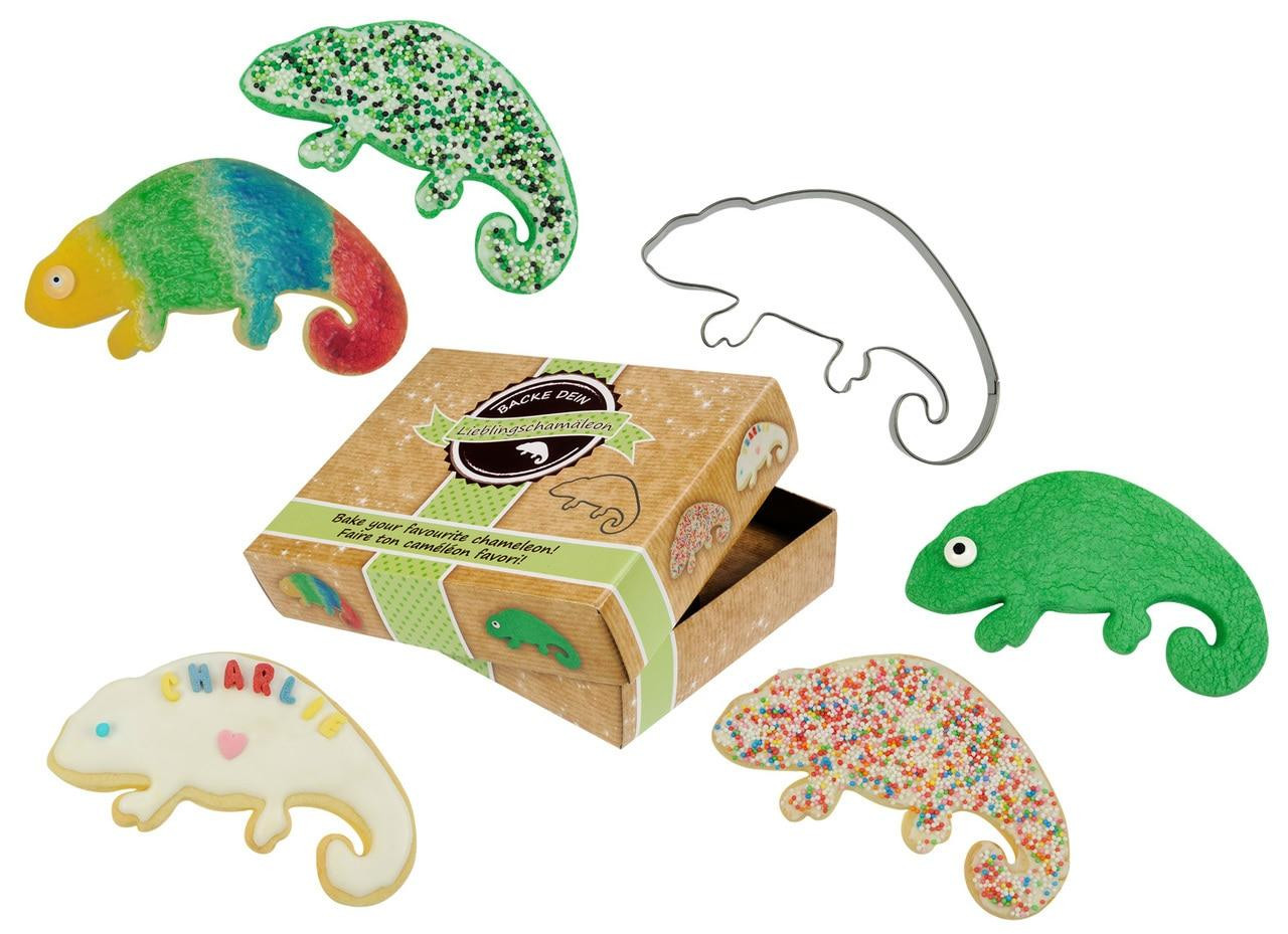 All Things Reptile Cookie Cutter Chameleon