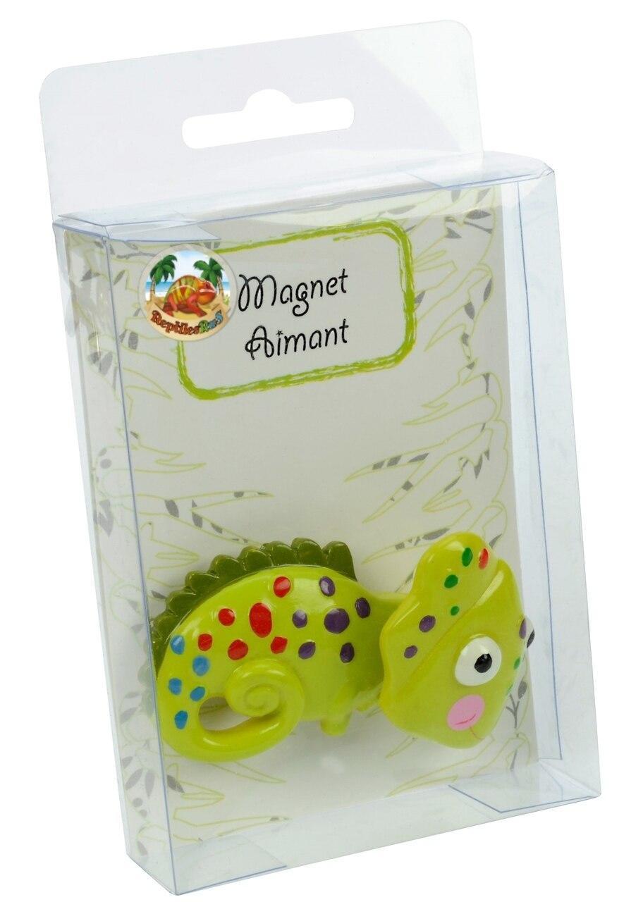 All Things Reptile Bobblehead Magnet Chameleon