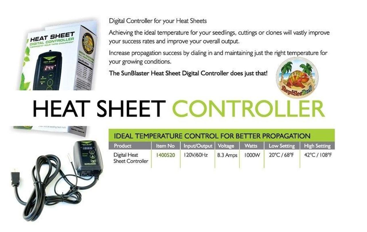 SunBlaster NEW SunBlaster Digital Thermostat