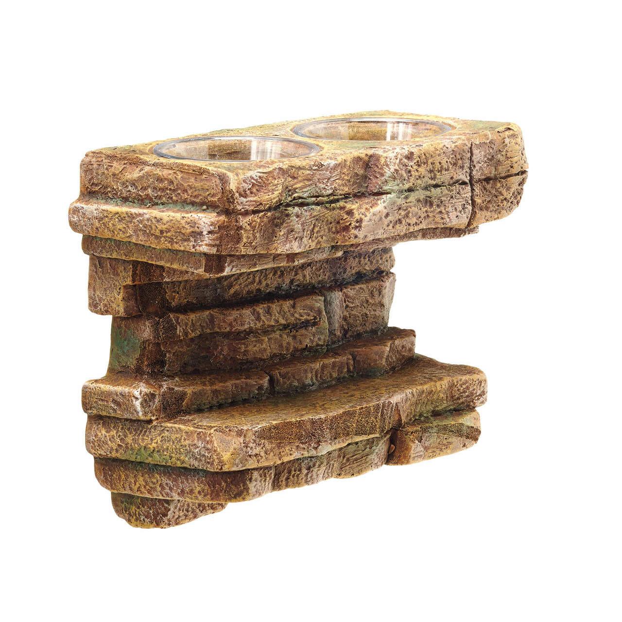 ZIlla Zilla Rock Feeding Ledge 10.5 x 4.625 x 7