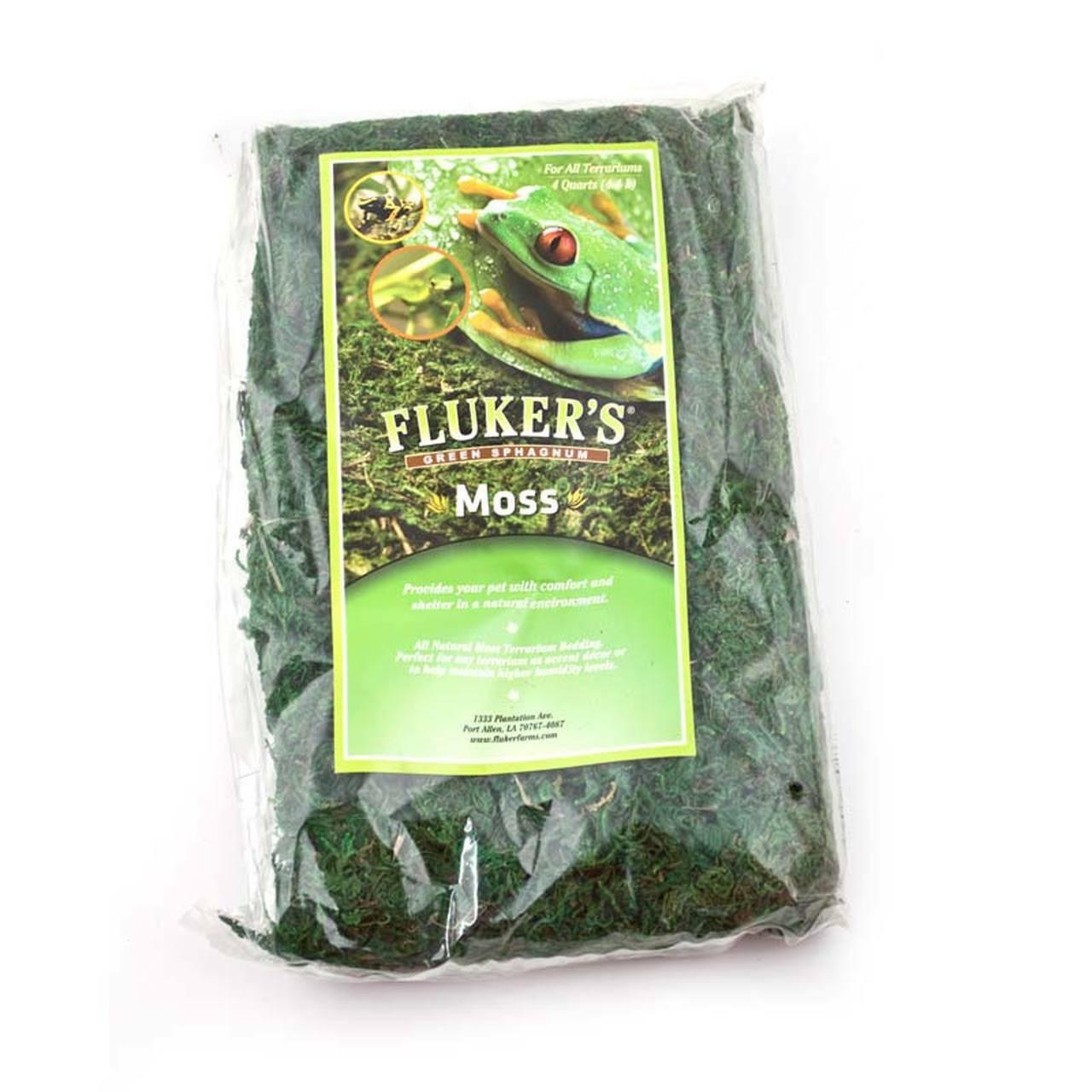 Flukers Flukers Green Sphagnum Terrarium Moss 8 Quart