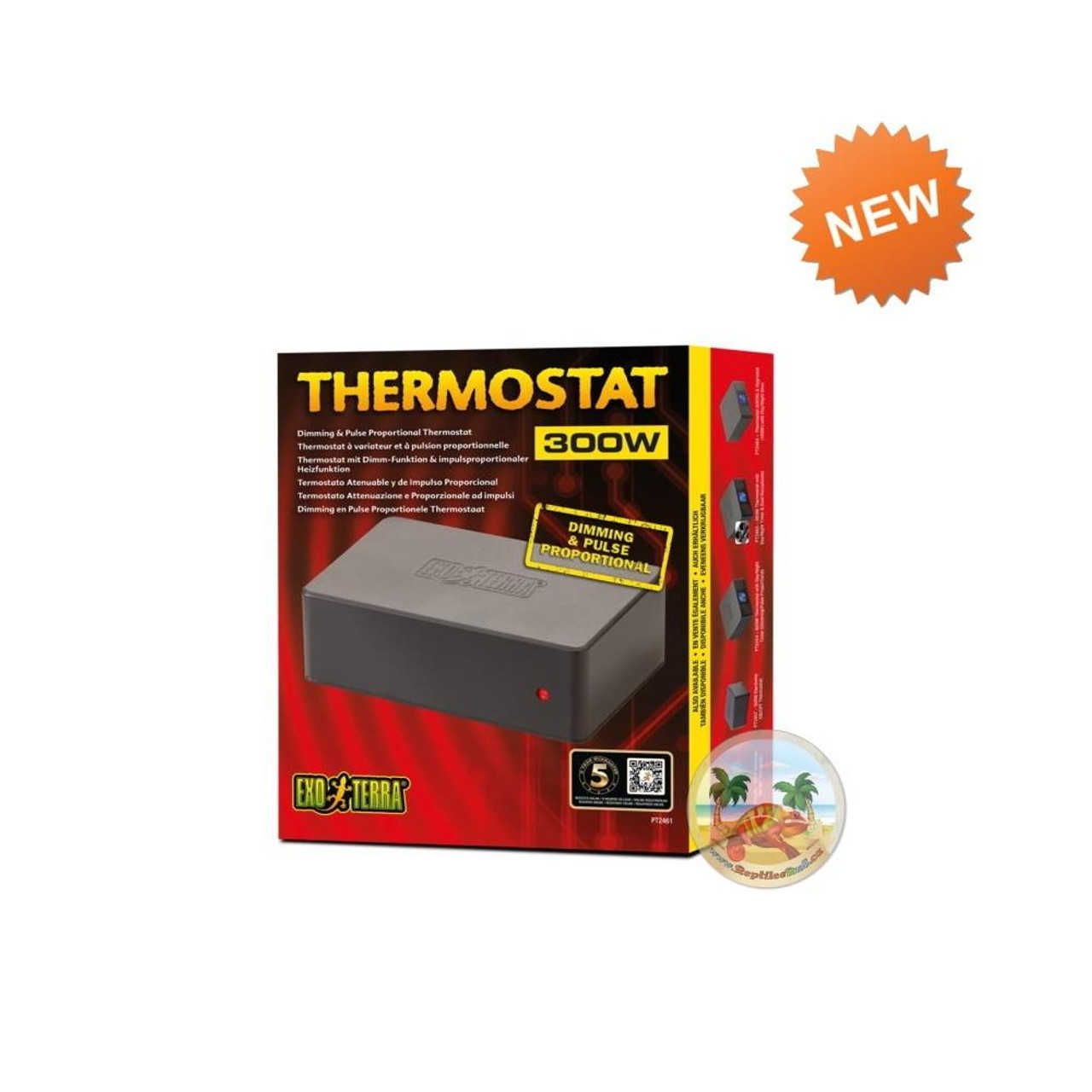 Exo Terra Exo Terra Thermostat 300W Dimming and Pulse Proportional Thermostat