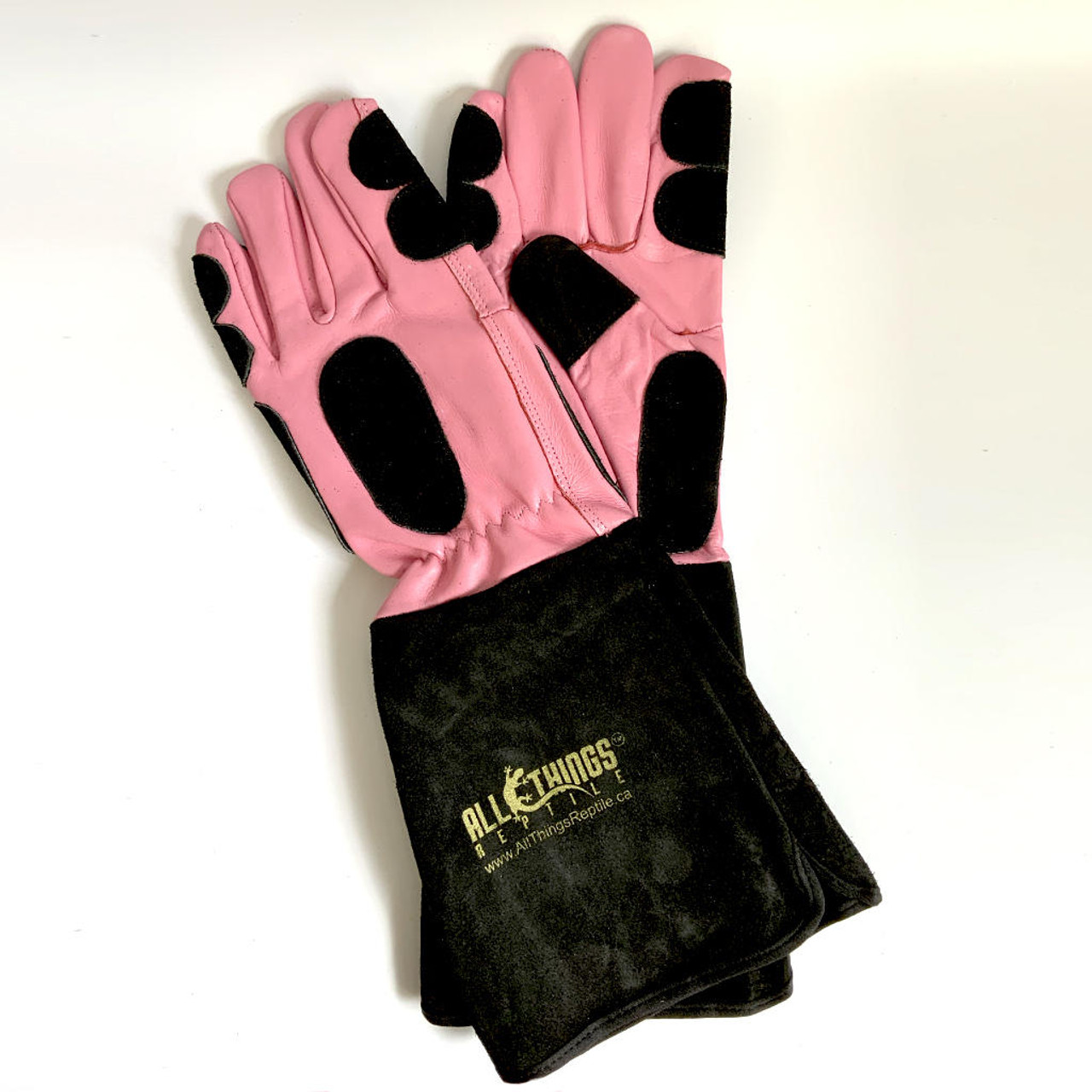 All Things Reptile ATR Reptile Handling Gloves PINK