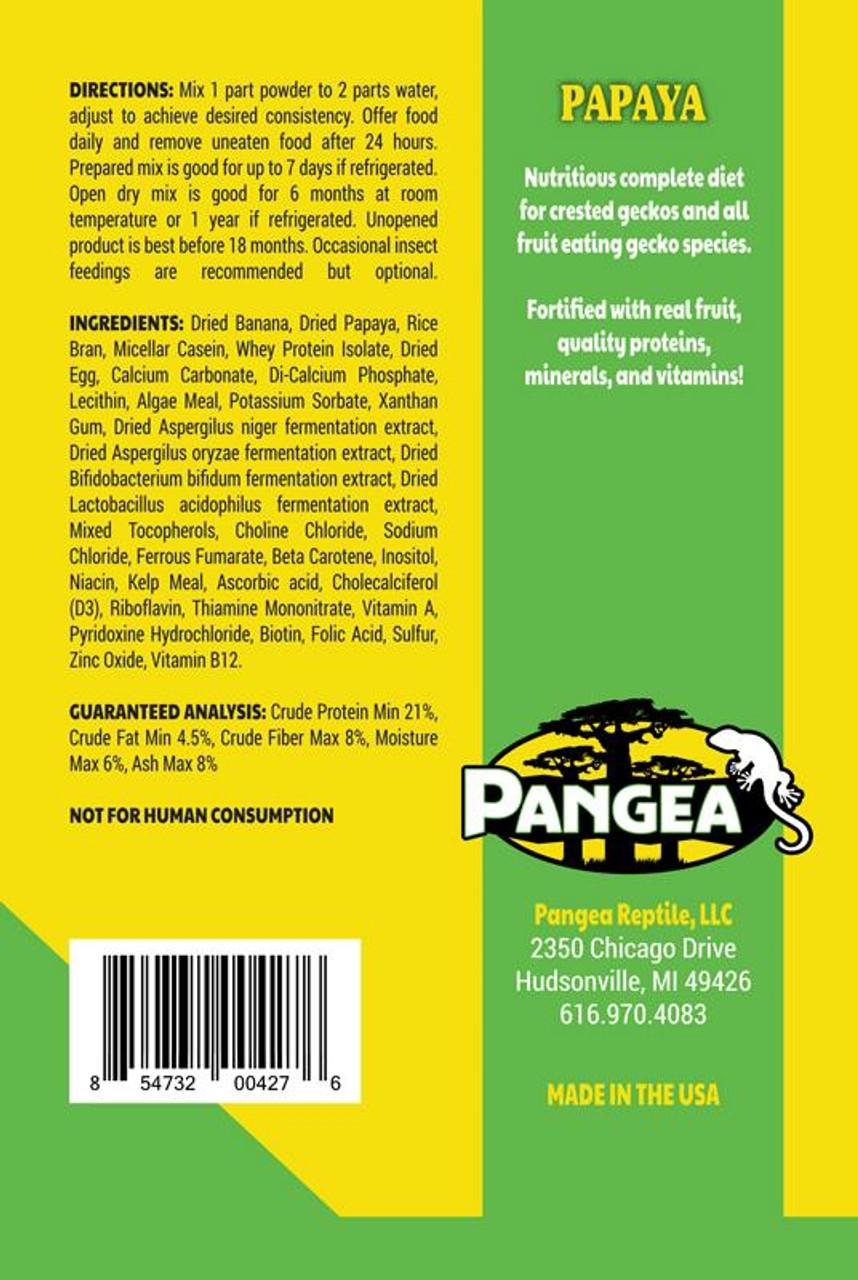 Pangea Pangea Fruit Mix with Papaya Complete Gecko Diet 2oz