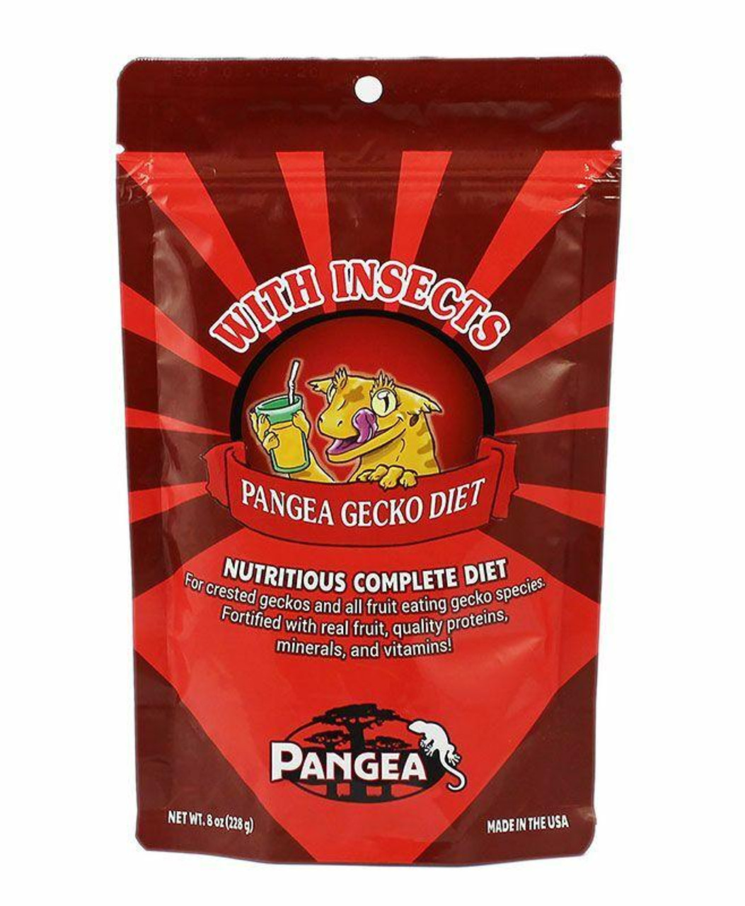 Pangea Pangea Fruit Mix with Insects Complete Gecko Diet 16oz