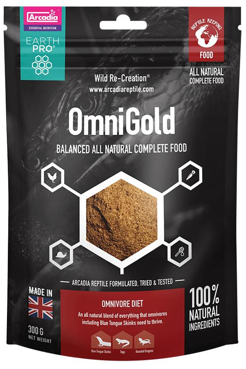 Arcadia Arcadia EarthPro-OmniGold 300g 10.58oz See Note about best before date