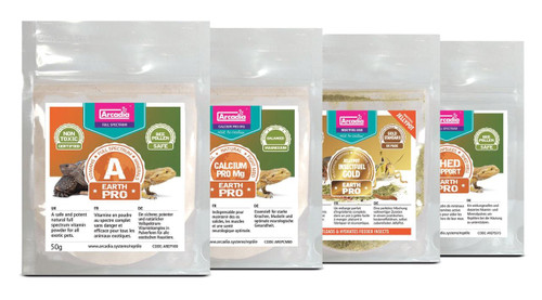 Arcadia Arcadia EarthPro Supplement and Gutloader Starter Kit See Note about best before date