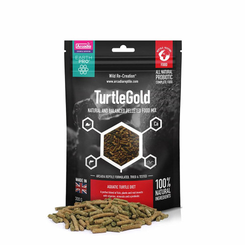 Arcadia Arcadia EarthPro TurtleGold 300g See Note about best before date