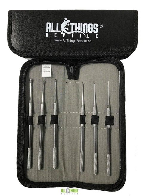 All Things Reptile ATR 6pc Probe Set With Leather Pouch