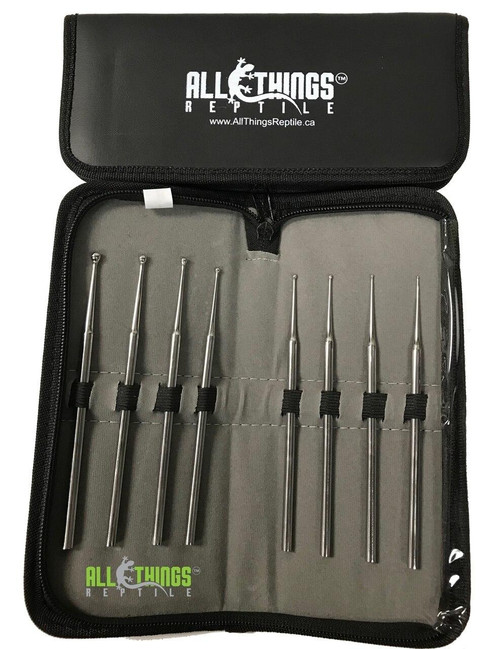 All Things Reptile ATR 8pc Probe Set With Leather Pouch