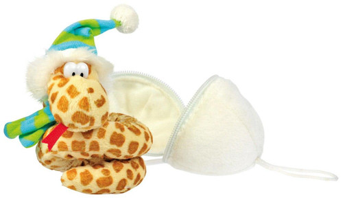 All Things Reptile Plush Animal Snake in Egg