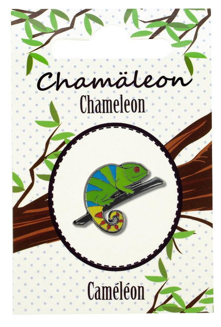 All Things Reptile Lapel Pin Chameleon