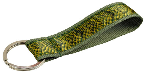 All Things Reptile Textile Keyring Snakeskin