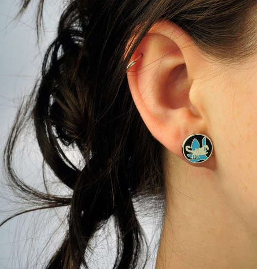 All Things Reptile Round Earstuds Scorpion
